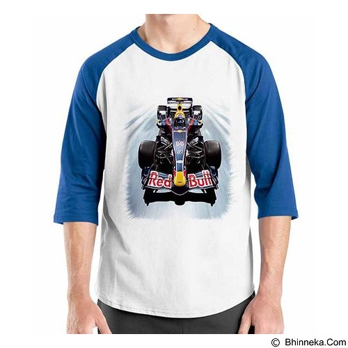 ORDINAL Raglan F1 Series Red Bull Size XL (Merchant) - Kaos Pria