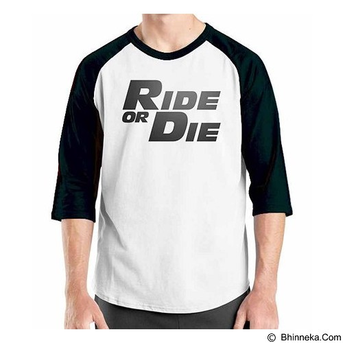 ORDINAL Raglan Fast and Furious 7 04 Size XL (Merchant) - Kaos Pria