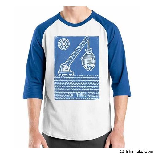 ORDINAL Raglan Fishing 05 Size M (Merchant) - Kaos Pria