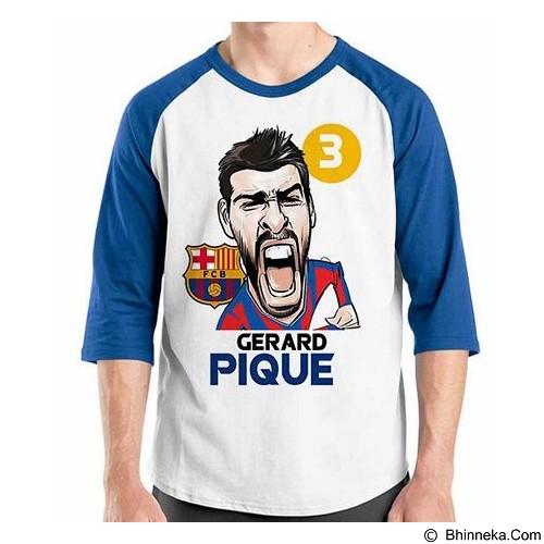 ORDINAL Raglan Football Player Pique Size XL (Merchant) - Kaos Pria