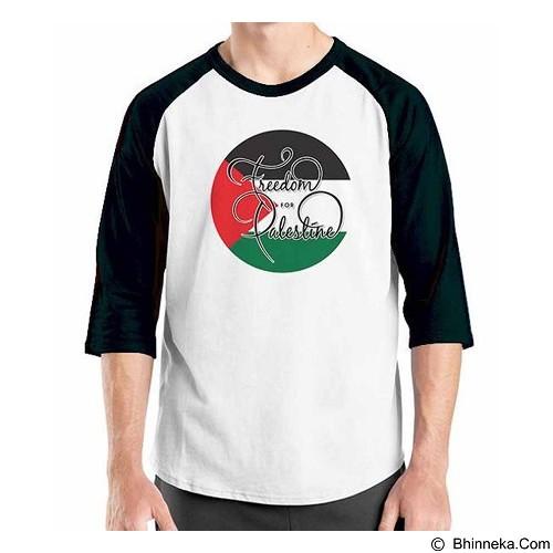 ORDINAL Raglan Freedom Palestine Size ML (Merchant) - Kaos Pria