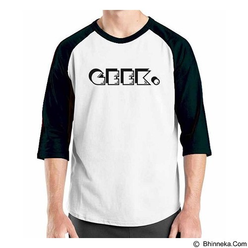 ORDINAL Raglan Geek 03 Size ML (Merchant) - Kaos Pria