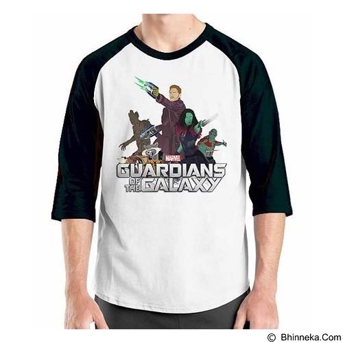 ORDINAL Raglan Guardian of The Galaxy 02 Size L (Merchant) - Kaos Pria