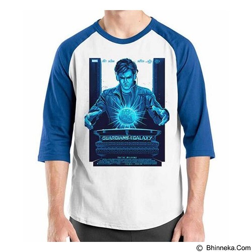 ORDINAL Raglan Guardian of The Galaxy 04 Size L (Merchant) - Kaos Pria