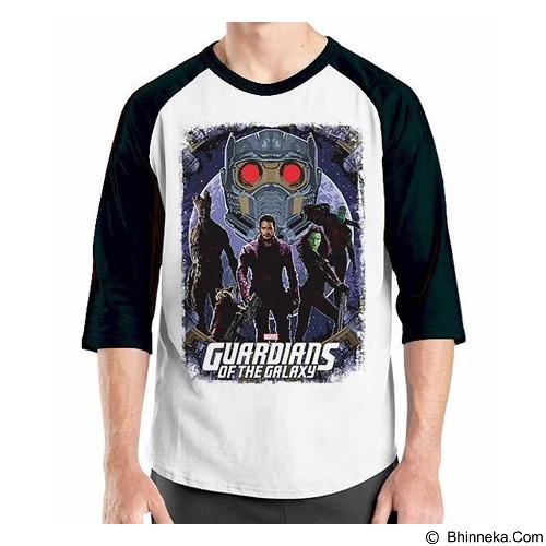 ORDINAL Raglan Guardian of The Galaxy 10 Size XXL (Merchant) - Kaos Pria