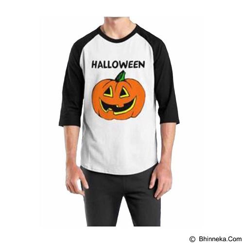 ORDINAL Raglan Halloween 02 Size L (Merchant) - Kaos Pria