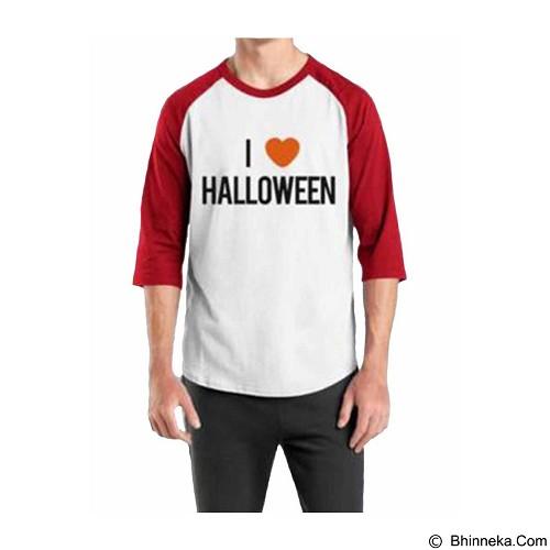 ORDINAL Raglan Halloween 05 Size ML (Merchant) - Kaos Pria