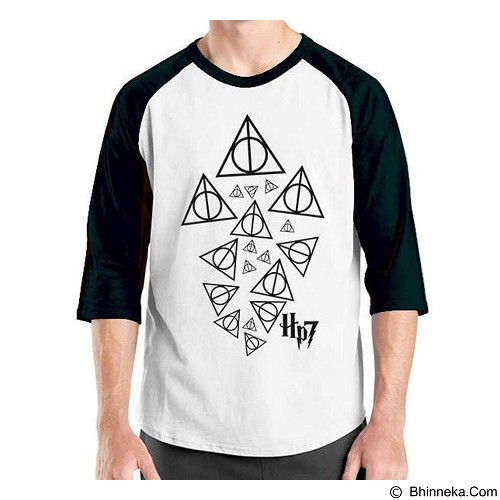 ORDINAL Raglan Harry Potter Series 04 Size M (Merchant) - Kaos Pria