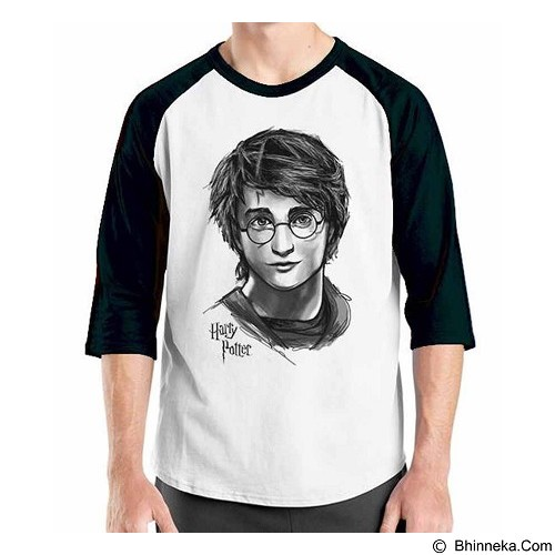 ORDINAL Raglan Harry Potter Series 07 Size ML (Merchant) - Kaos Pria