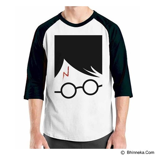ORDINAL Raglan Harry Potter Series 11 Size M (Merchant) - Kaos Pria