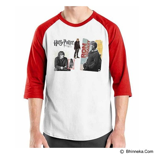 ORDINAL Raglan Harry Potter Series Ron Size XL (Merchant) - Kaos Pria