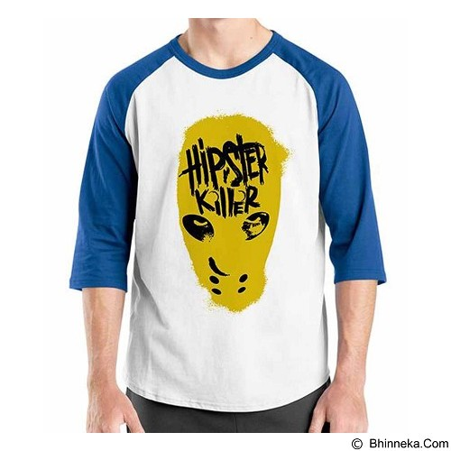 ORDINAL Raglan Hipster Killer Size ML (Merchant) - Kaos Pria