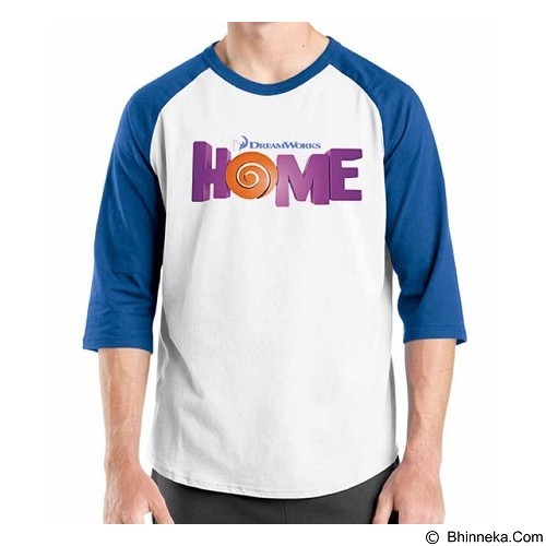 ORDINAL Raglan Home Logo 01 Size ML (Merchant) - Kaos Pria