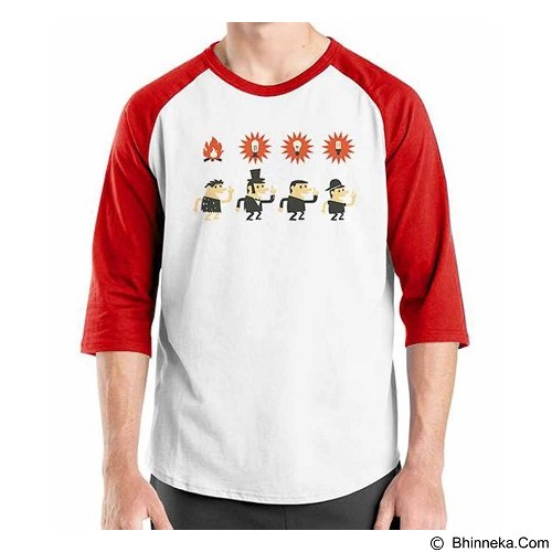 ORDINAL Raglan Idea Evolution Size S (Merchant) - Kaos Pria