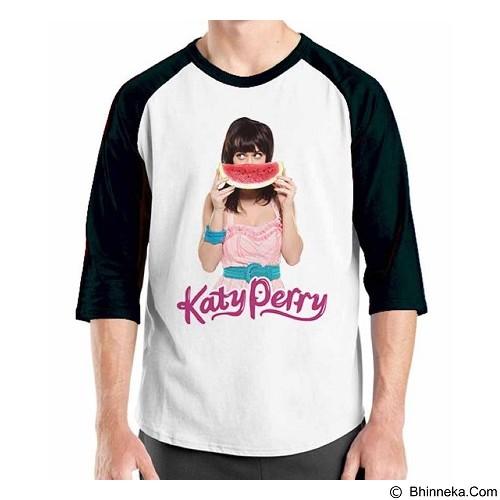 ORDINAL Raglan Katy Perry 03 Size ML (Merchant) - Kaos Pria