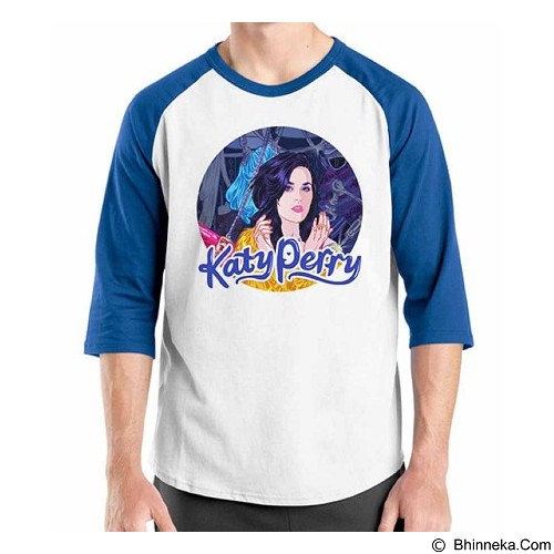 ORDINAL Raglan Katy Perry 07 Size XL (Merchant) - Kaos Pria