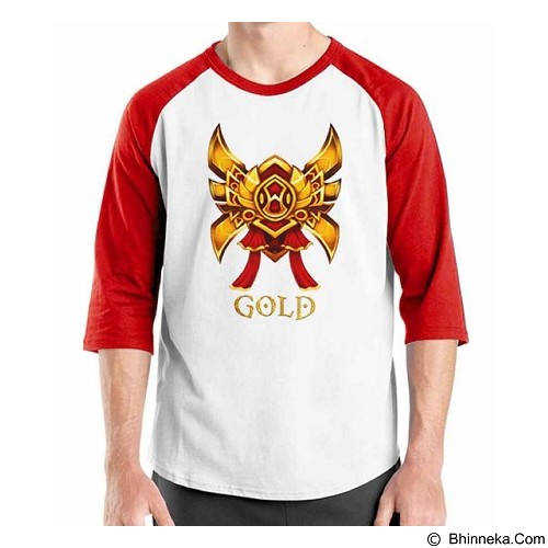 ORDINAL Raglan League Of Legends 04 Size XL (Merchant) - Kaos Pria