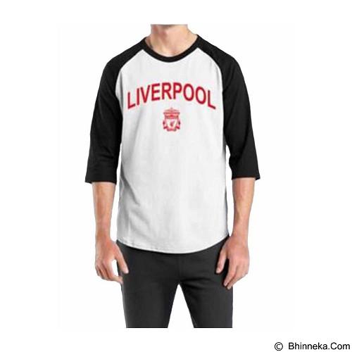 ORDINAL Raglan Liverpool 03 Size L (Merchant) - Kaos Pria