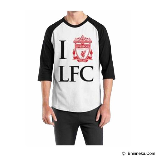 ORDINAL Raglan Liverpool 05 Size ML (Merchant) - Kaos Pria