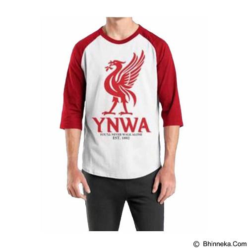 ORDINAL Raglan Liverpool 06 Size L (Merchant) - Kaos Pria