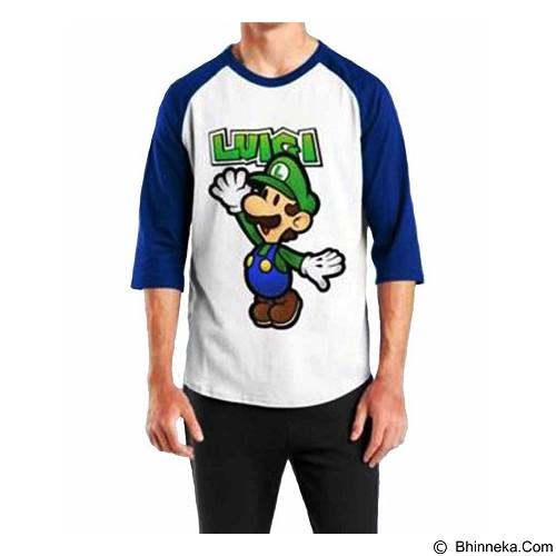 ORDINAL Raglan Luigi 01 Size S (Merchant) - Kaos Pria