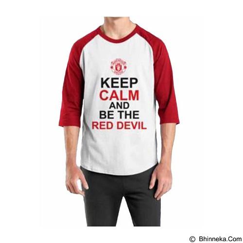 ORDINAL Raglan Manchester United 08 Size ML (Merchant) - Kaos Pria