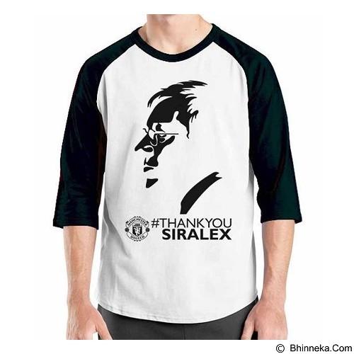 ORDINAL Raglan Manchester United Edition 09 Size ML (Merchant) - Kaos Pria