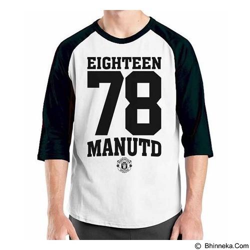ORDINAL Raglan Manchester United Edition 12 Size XL (Merchant) - Kaos Pria