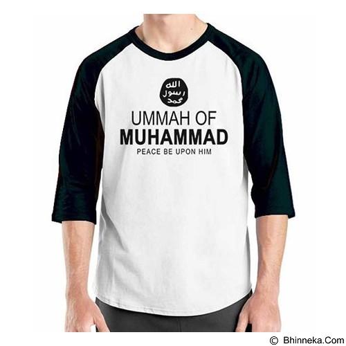 ORDINAL Raglan Muslim Series Ummah of Muhammad Size ML (Merchant) - Kaos Pria