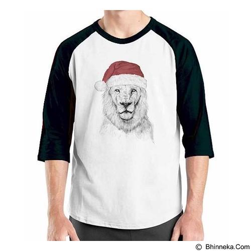 ORDINAL Raglan New Santa 02 Size XXL (Merchant) - Kaos Pria