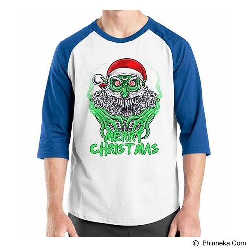 ORDINAL Raglan New Santa 13 Size XL (Merchant) - Kaos Pria
