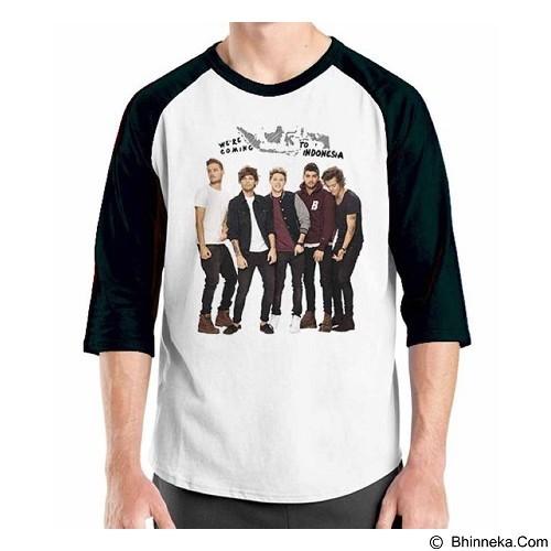 ORDINAL Raglan One Direction Tour 01 Size XL (Merchant) - Kaos Pria