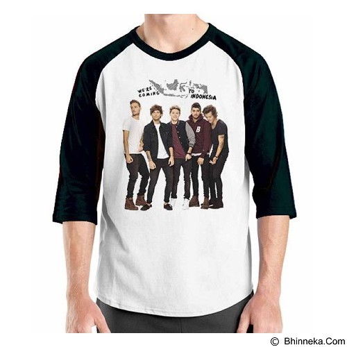 ORDINAL Raglan One Direction Tour 01 Size XXL (Merchant) - Kaos Pria
