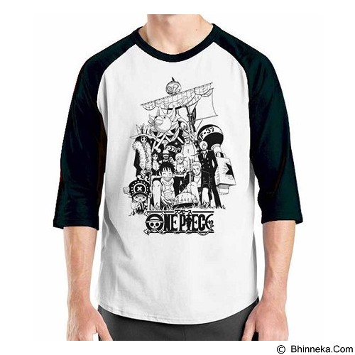 ORDINAL Raglan One Piece NW 02 Size S (Merchant) - Kaos Pria