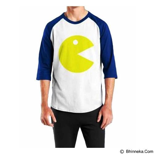 ORDINAL Raglan Pacman 01 Size M (Merchant) - Kaos Pria
