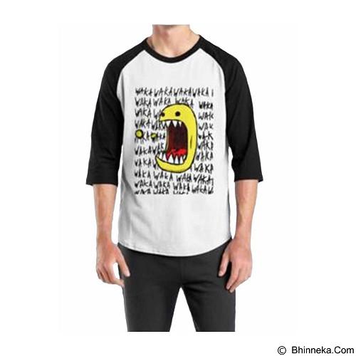 ORDINAL Raglan Pacman 08 Size M (Merchant) - Kaos Pria