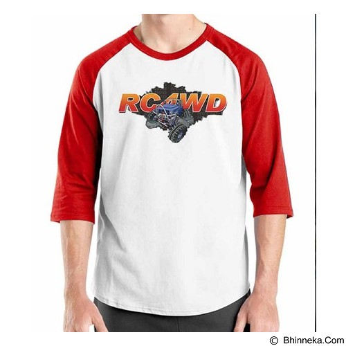 ORDINAL Raglan RC Car 02 Size S (Merchant) - Kaos Pria