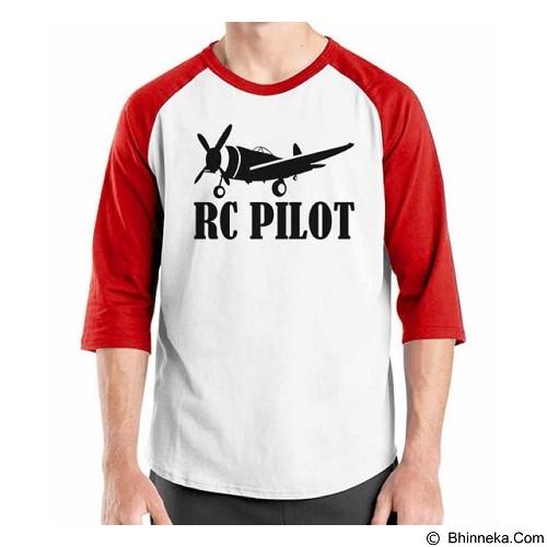 ORDINAL Raglan RC Pilot 02 Size ML (Merchant) - Kaos Pria