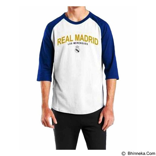 ORDINAL Raglan Real Madrid 03 Size XXL (Merchant) - Kaos Pria