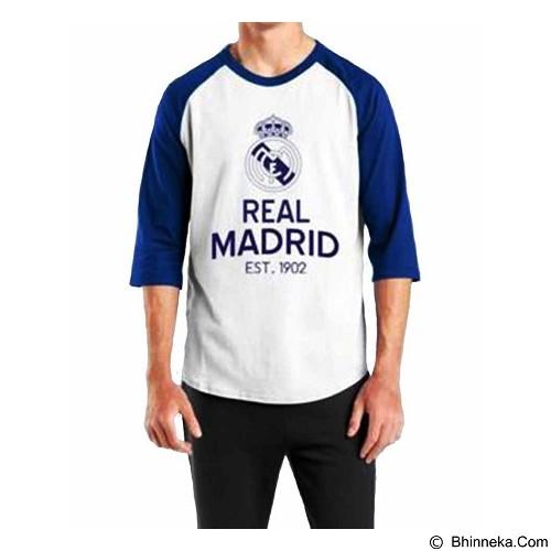 ORDINAL Raglan Real Madrid 05 Size XXL (Merchant) - Kaos Pria