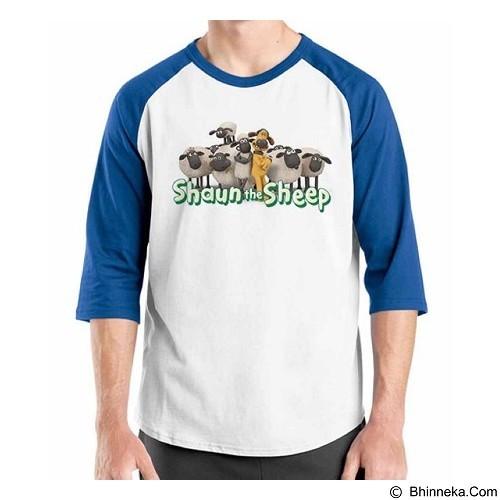 ORDINAL Raglan Shaun The Sheep 04 Size XXL (Merchant) - Kaos Pria