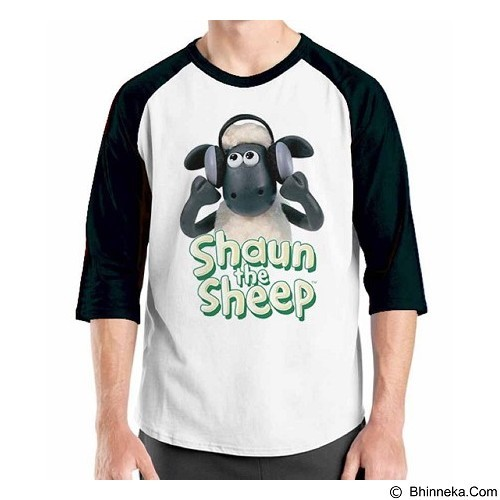 ORDINAL Raglan Shaun The Sheep 10 Size M (Merchant) - Kaos Pria