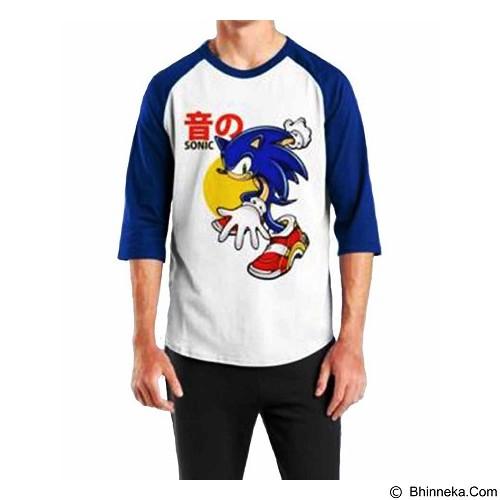 ORDINAL Raglan Sonic 02 Size L (Merchant) - Kaos Pria