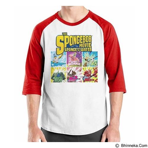ORDINAL Raglan Spongebob Movie 04 Size M (Merchant) - Kaos Pria