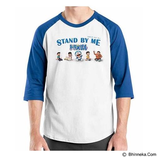 ORDINAL Raglan Stand By Me Doraemon 01 Size XL (Merchant) - Kaos Pria