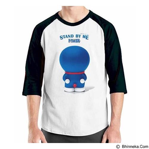 ORDINAL Raglan Stand By Me Doraemon 03 Size L (Merchant) - Kaos Pria
