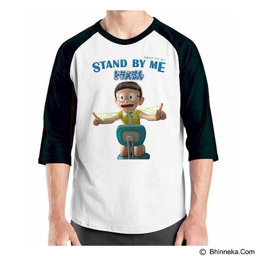 ORDINAL Raglan Stand By Me Doraemon 05 Size XL (Merchant) - Kaos Pria