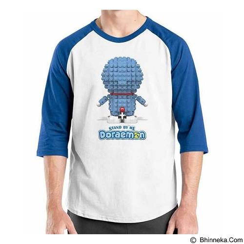 ORDINAL Raglan Stand By Me Doraemon 11 Size XL (Merchant) - Kaos Pria