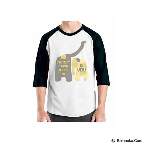 ORDINAL Raglan Typhography Love 23 Size XL (Merchant) - Kaos Pria