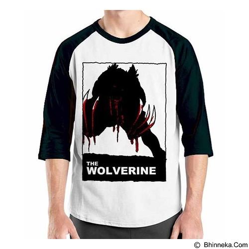 ORDINAL Raglan Wolverine 06 Size XL (Merchant) - Kaos Pria